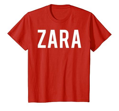 a1875a01 Amazon.com: Zara T Shirt - Cool new funny name fan cheap gift tee: Clothing