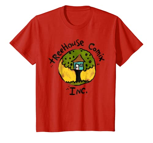 90d7c20b5 Amazon.com: Kids DreamWorks Captain Underpants Treehouse Comix Inc. T-Shirt:  Clothing