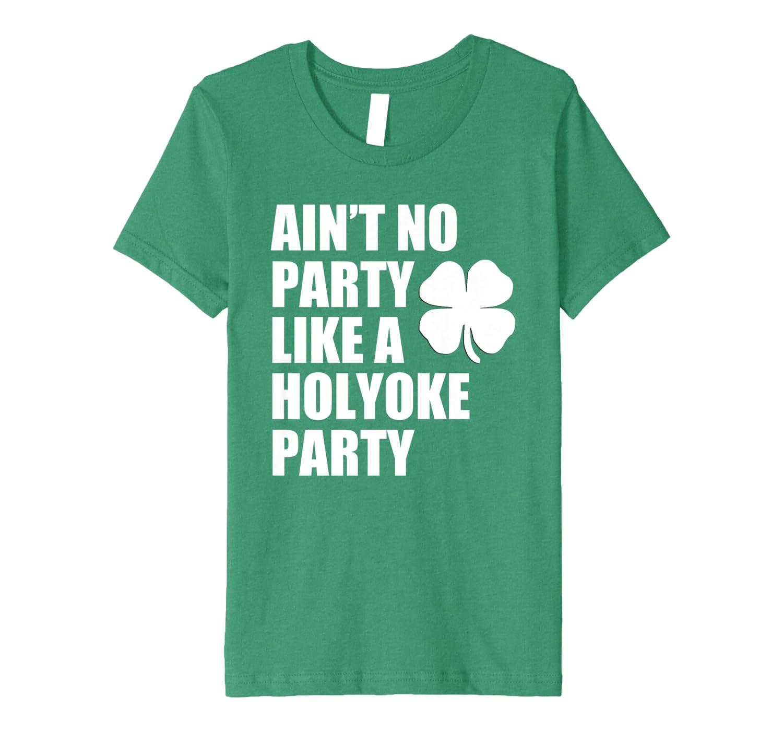 Holyoke St. Patrick's Day Irish Parade Party Premium T-Shirt