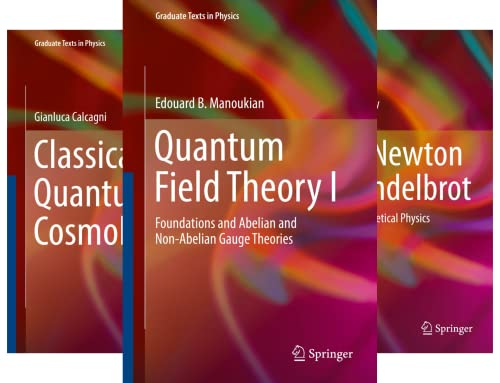 Graduate Texts in Physics (51-87) (37 Book Series)