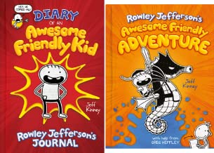 Diary of an Awesome Friendly Kid Series (2 Book Series)
