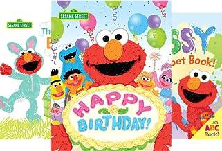 Sesame Street Scribbles (4 Book Series)