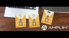 Amazon.com: Amplim 128GB Micro SD SDXC V30 A1 Memory Card ...