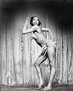 Close up of Josephine Baker 8x10 photo