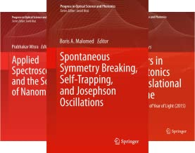 Progress in Optical Science and Photonics (9 Book Series)