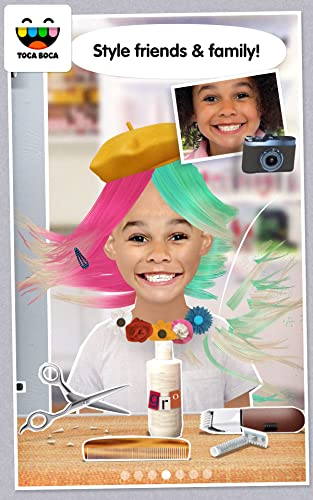 『Toca Hair Salon Me』の2枚目の画像