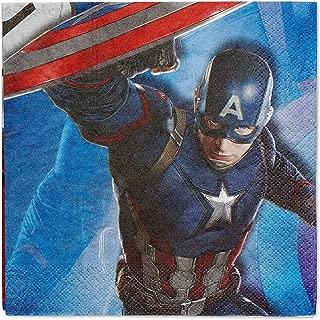 American Greetings Captain America: Civil War Lunch Napkins (16 Count)