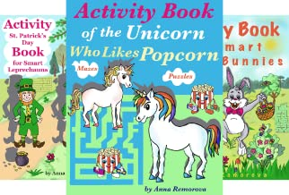 """Brain Power """"ON"""" – Activity Books for Kids (14 Book Series)"""