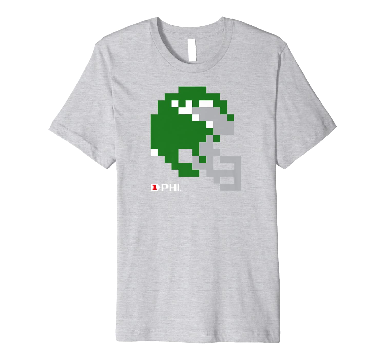8-Bit Retro Vintage Video Game T Shirt Philly Football-TH
