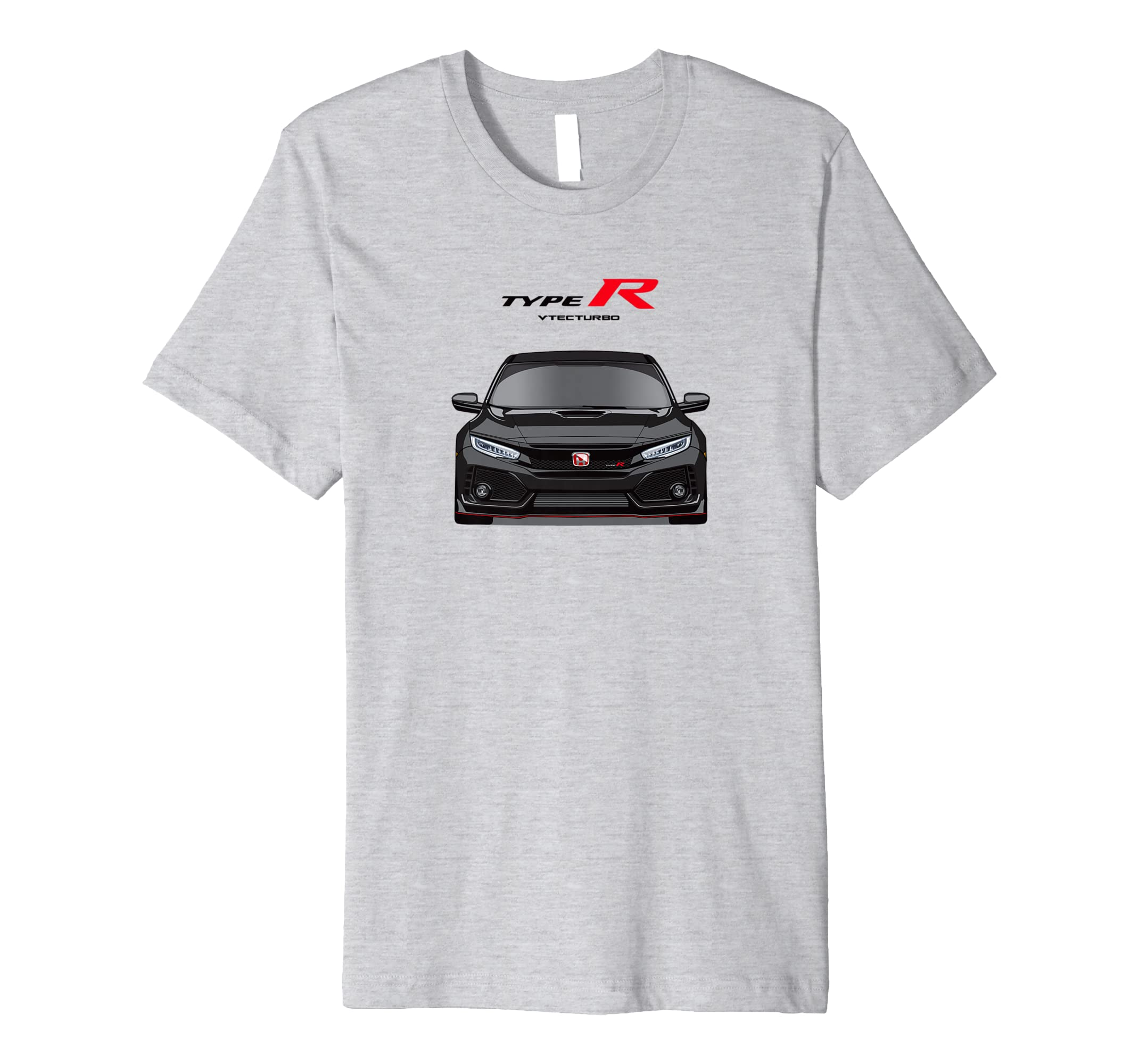 TYPE R FK8 BLACK JDM T SHIRT-azvn