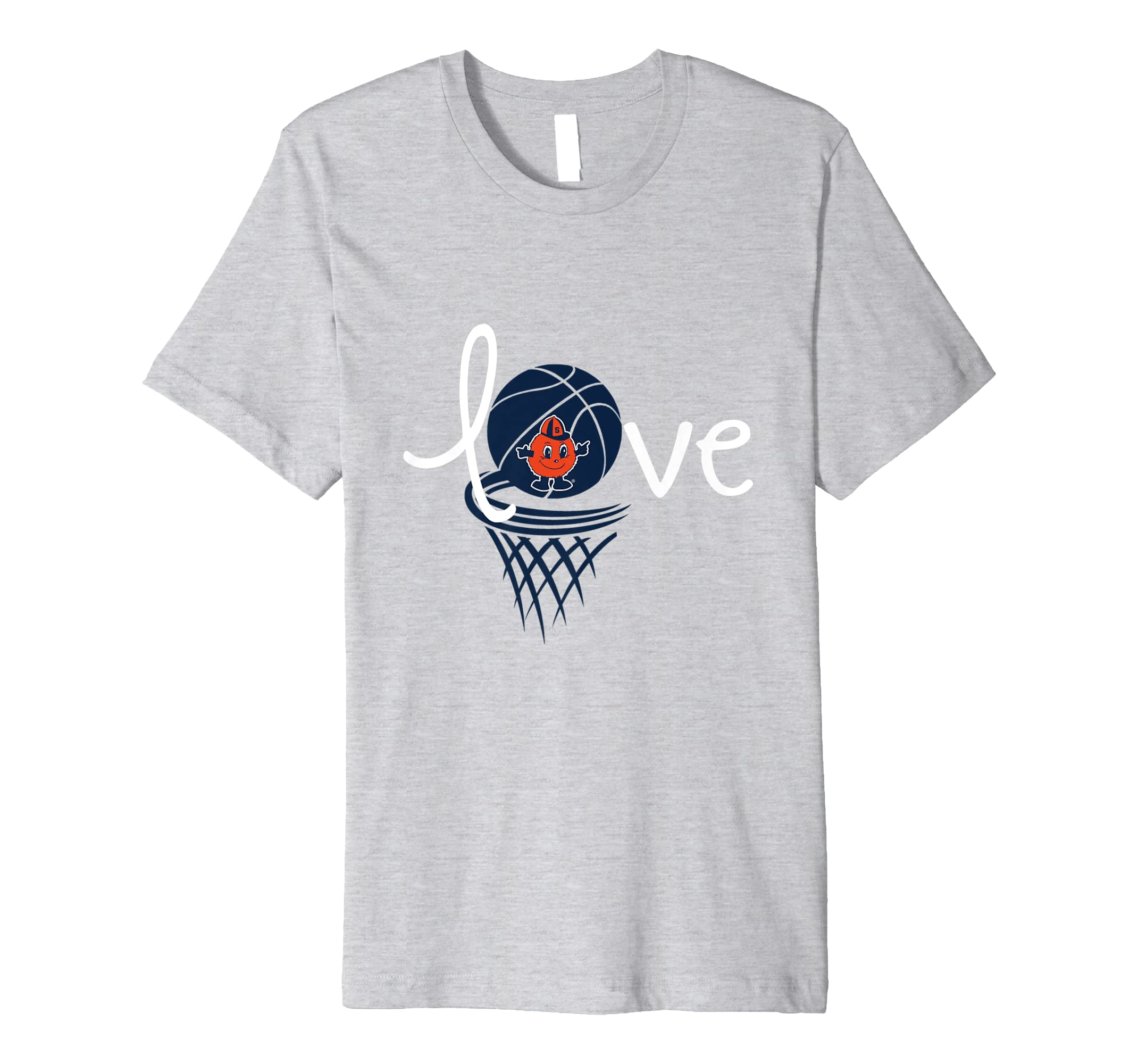 Amazon Com Syracuse Orange Love Syracuse Basketball T Shirt