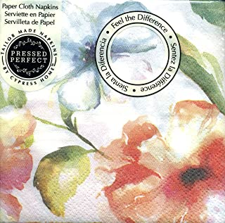 Cypress Home Watercolor Floral Paper Cloth Cocktail Napkin
