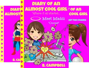 Diary of an Almost Cool Girl (5 Book Series)