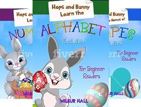 Level 1, Kindergarten, First Grade, Preschool Books, Picture Books, Beginning Reader Books, Easter (3 Book Series)