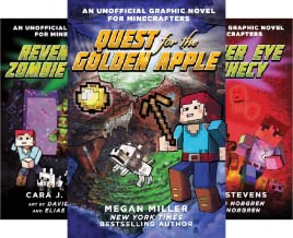 Unofficial Minecrafters Quest for the Golden Apple (6 Book Series)