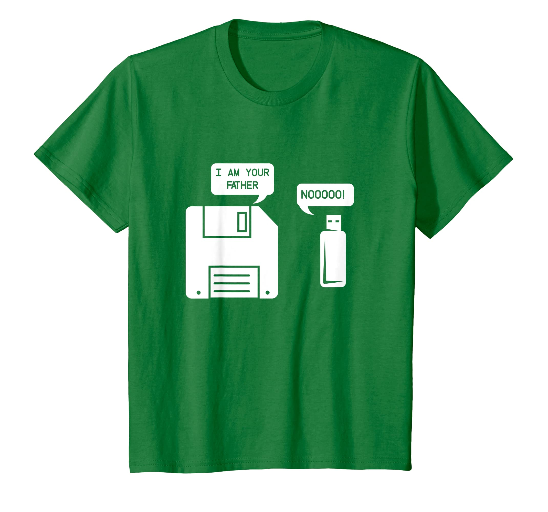 d5622194 Amazon.com: USB Floppy Disk I am Your Father T-shirt, Geek Gifts Tshirt:  Clothing