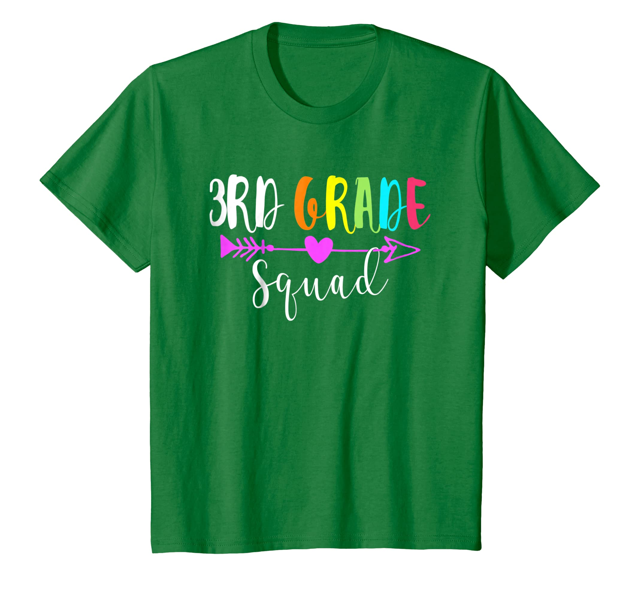 3rd Grade Squad Tshirt Happy First Day Of School Gift