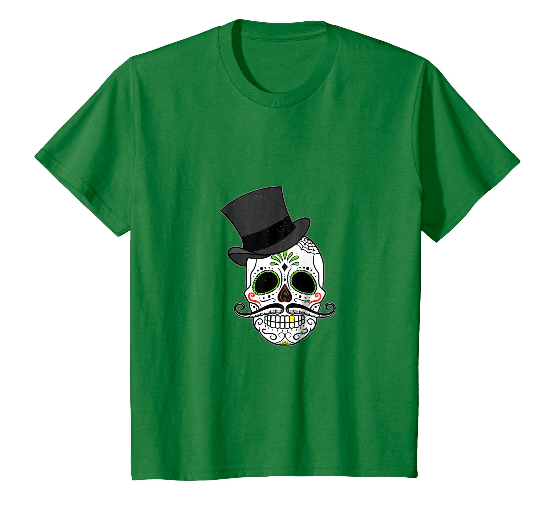 Amazon.com: Dia de Los Muertos Calavera de Azucar Camiseta T-Shirt: Clothing