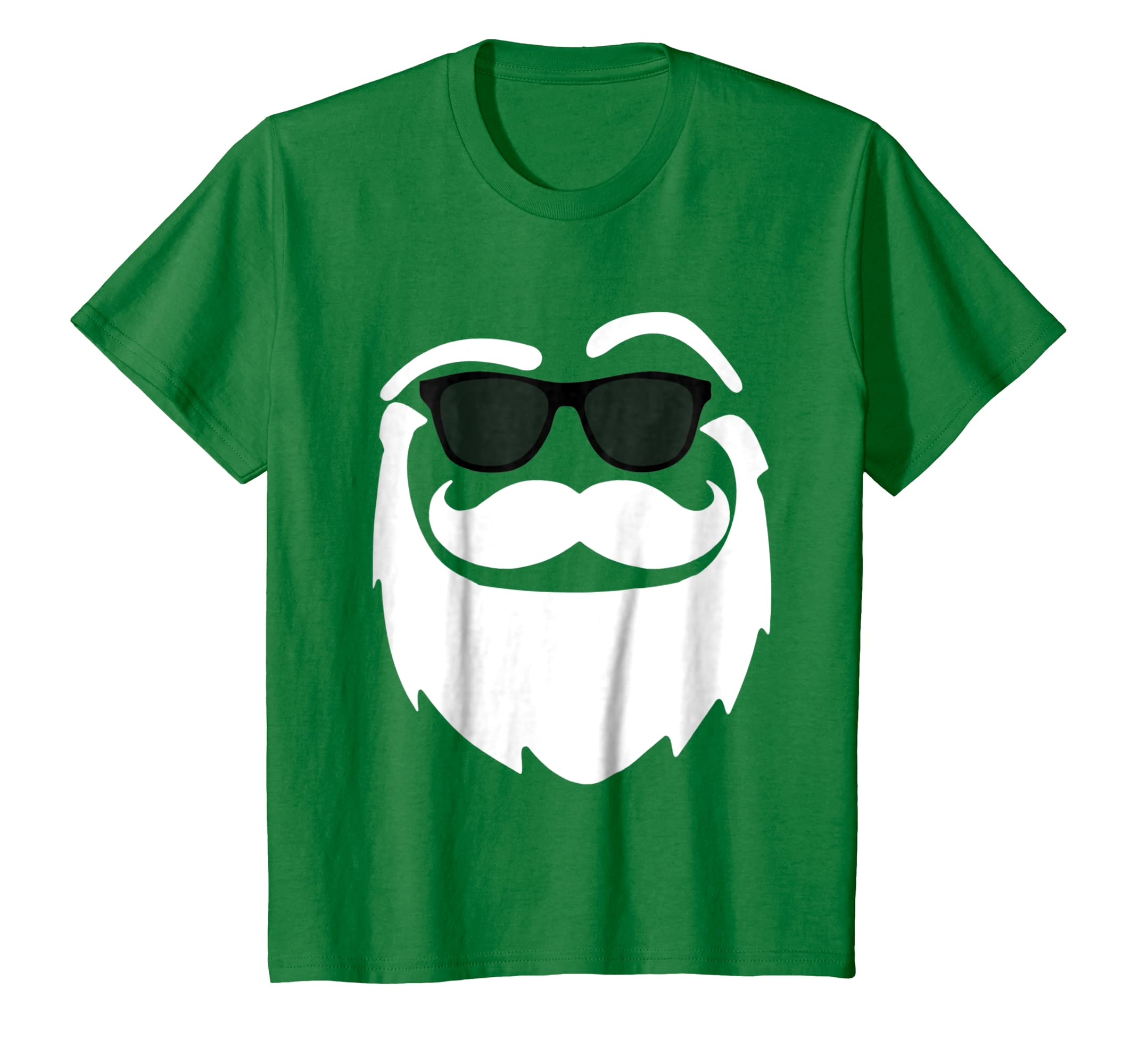 a654a4f3 Amazon Com Cool Santa Claus Face Funny Christmas T Shirt Clothing