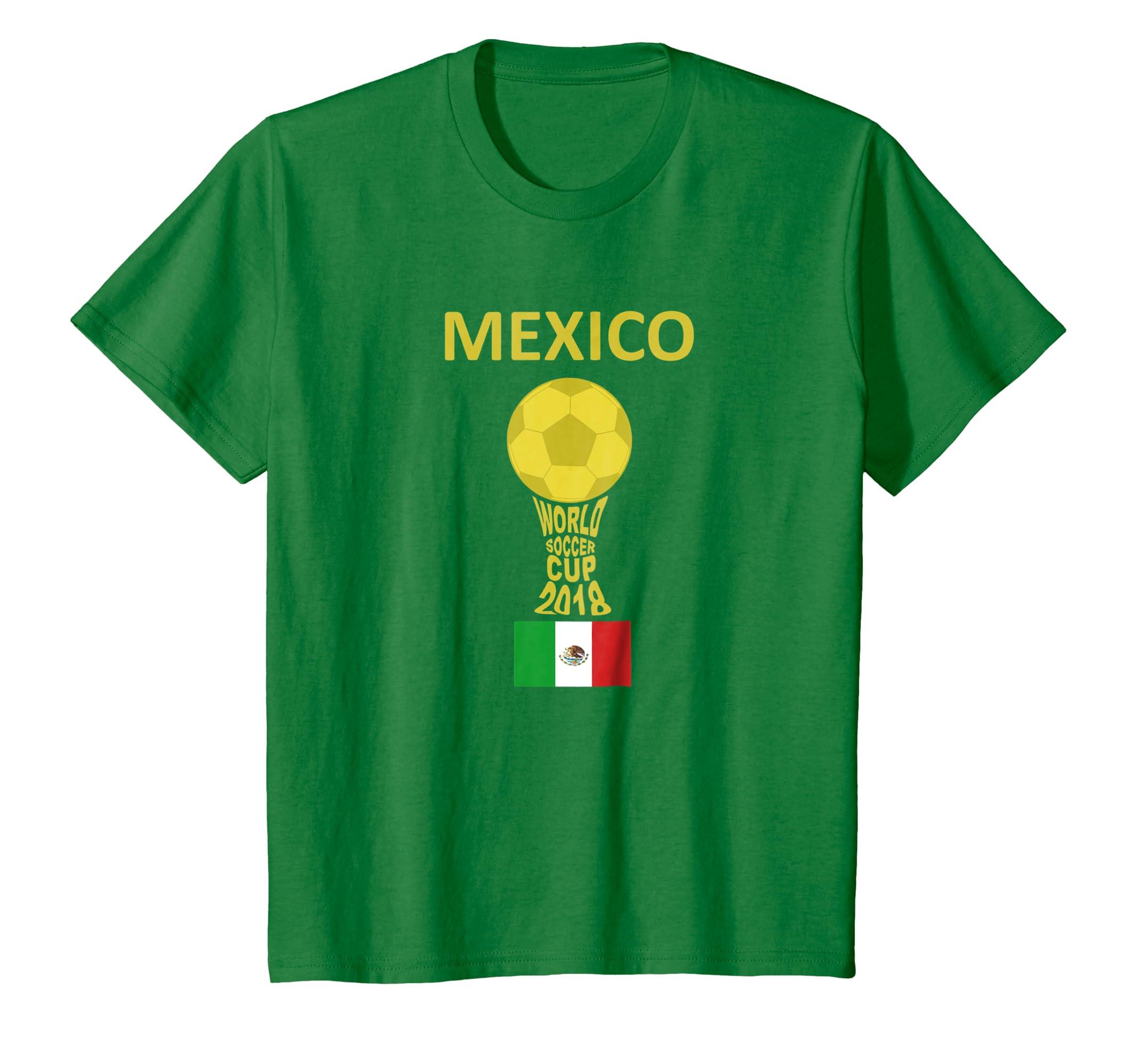 Amazon.com: Mexico Soccer 2018 World Futbol Cup Camiseta T-shirt: Clothing