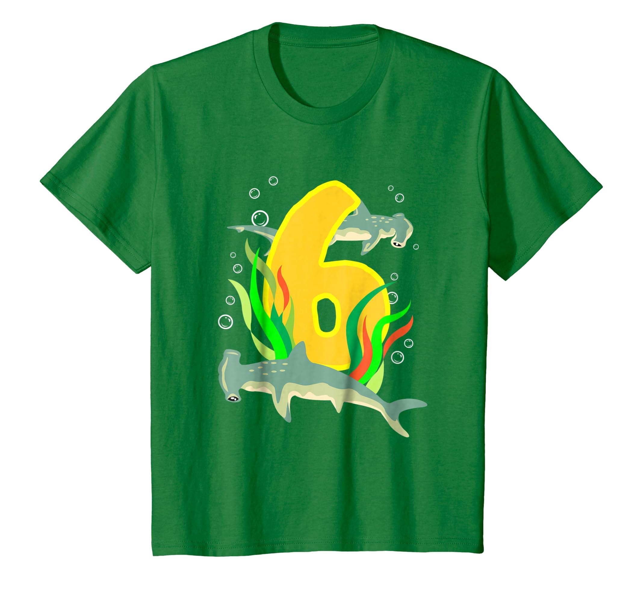 Amazon 6 Year Old Birthday Shirt