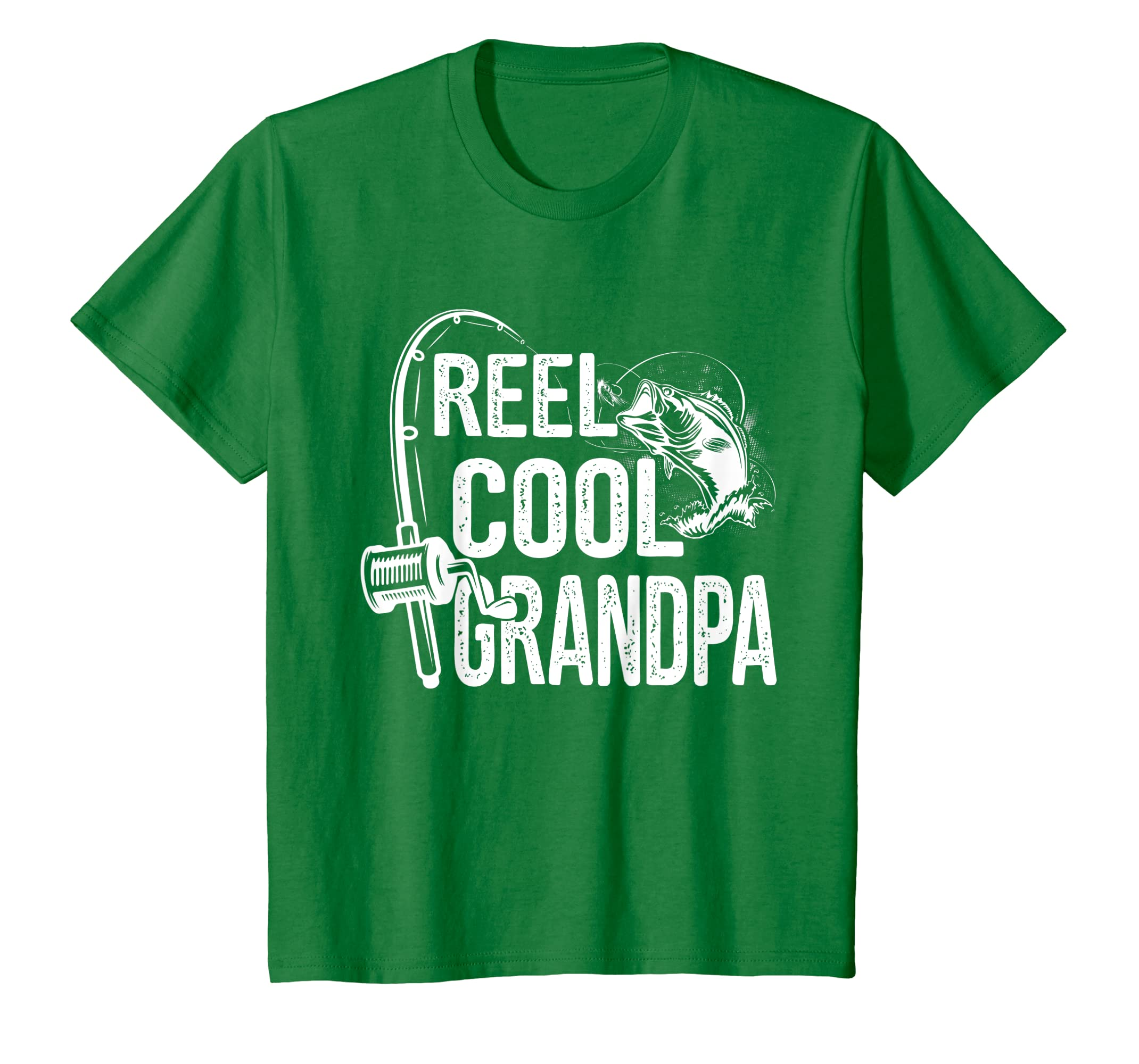4f1d1ac9 Amazon.com: Reel Cool Grandpa T-Shirt Fishing Lover Gift For Fathers Day:  Clothing