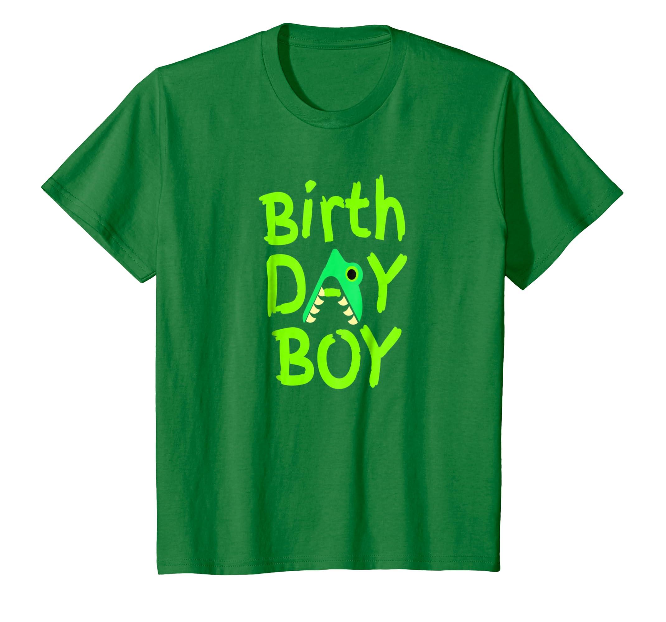 Amazon Kids Boys Toddler Birthday Shirt Trex Dinasour Gift For