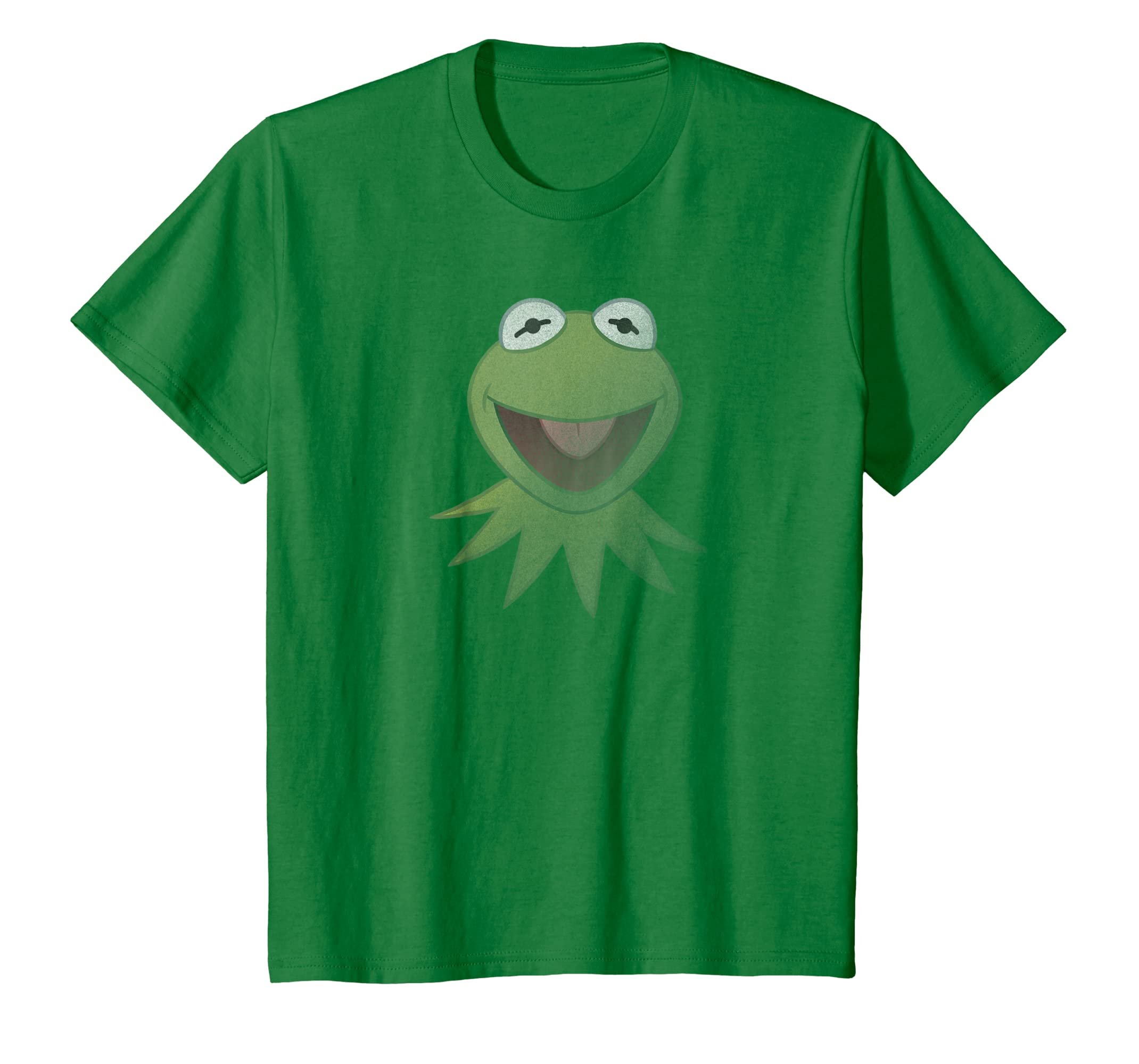 db60ed02babb6 Amazon.com  Disney Muppets Kermit the Frog Face T-Shirt  Clothing