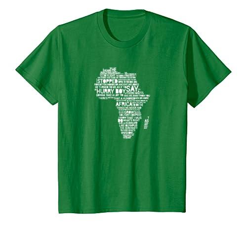Amazon.com: Toto - Africa - Lyrics to Bless the Rains on T-shirt ...