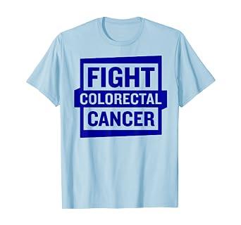 Amazon Com Fight Colorectal Cancer T Shirt Colon Cancer Awareness Shirt Clothing