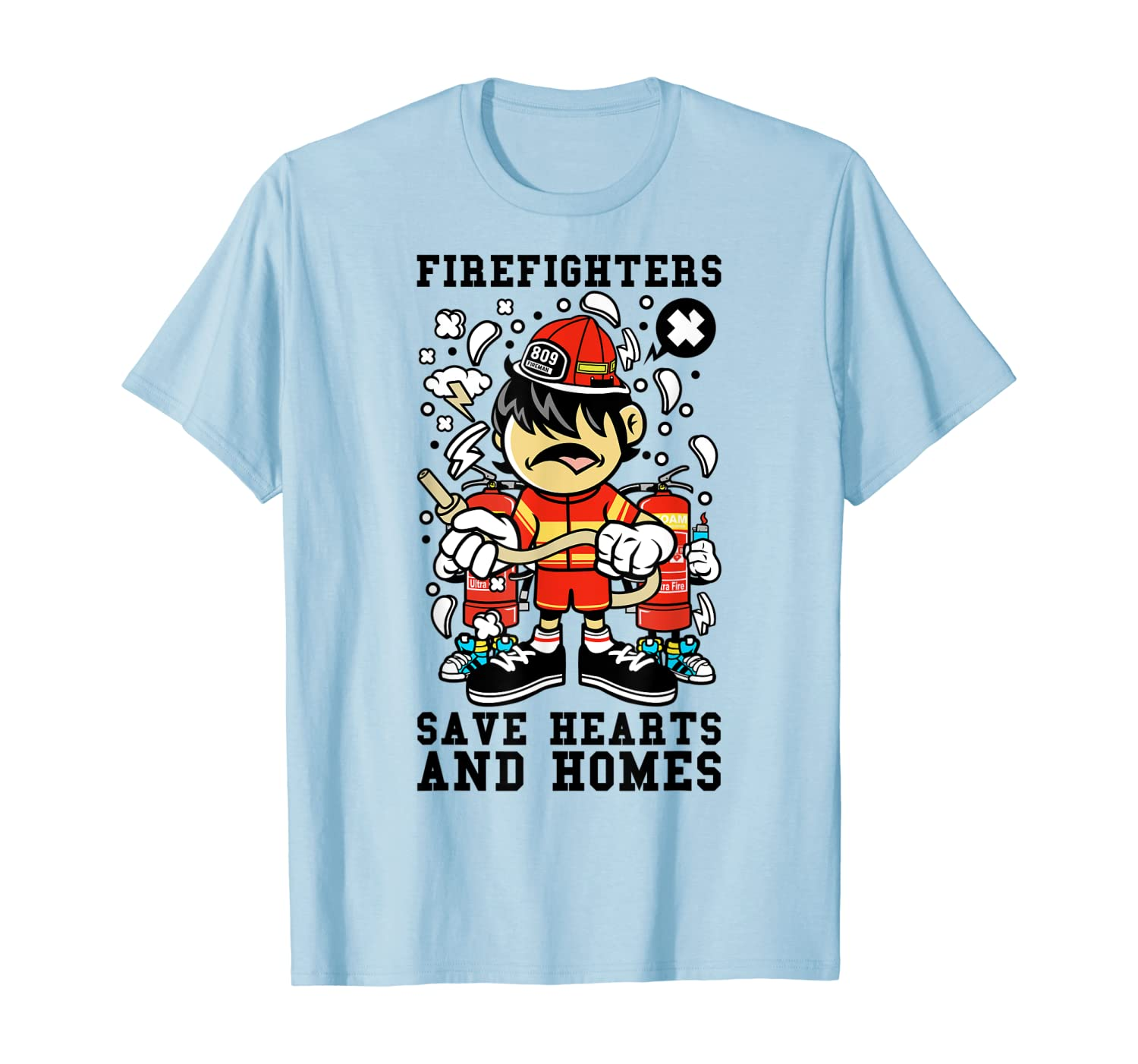 Fire Fighters Save Hearts and Homes