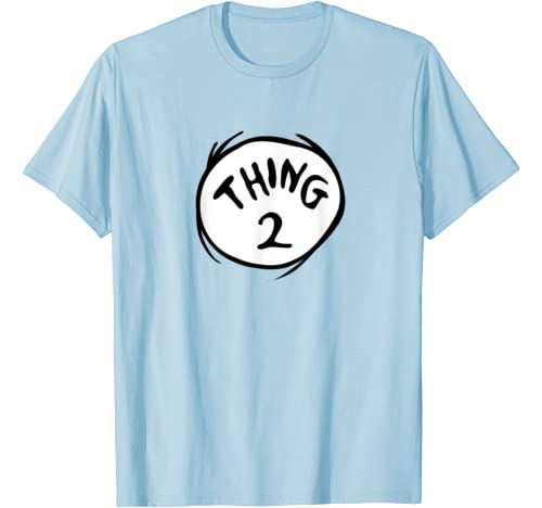 Dr. Seuss Thing 2 Emblem Color Option T Shirt
