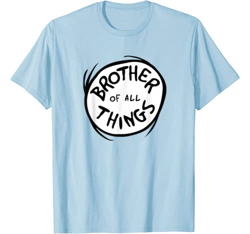 Dr. Seuss Brother Of All Things Emblem Color Option T Shirt