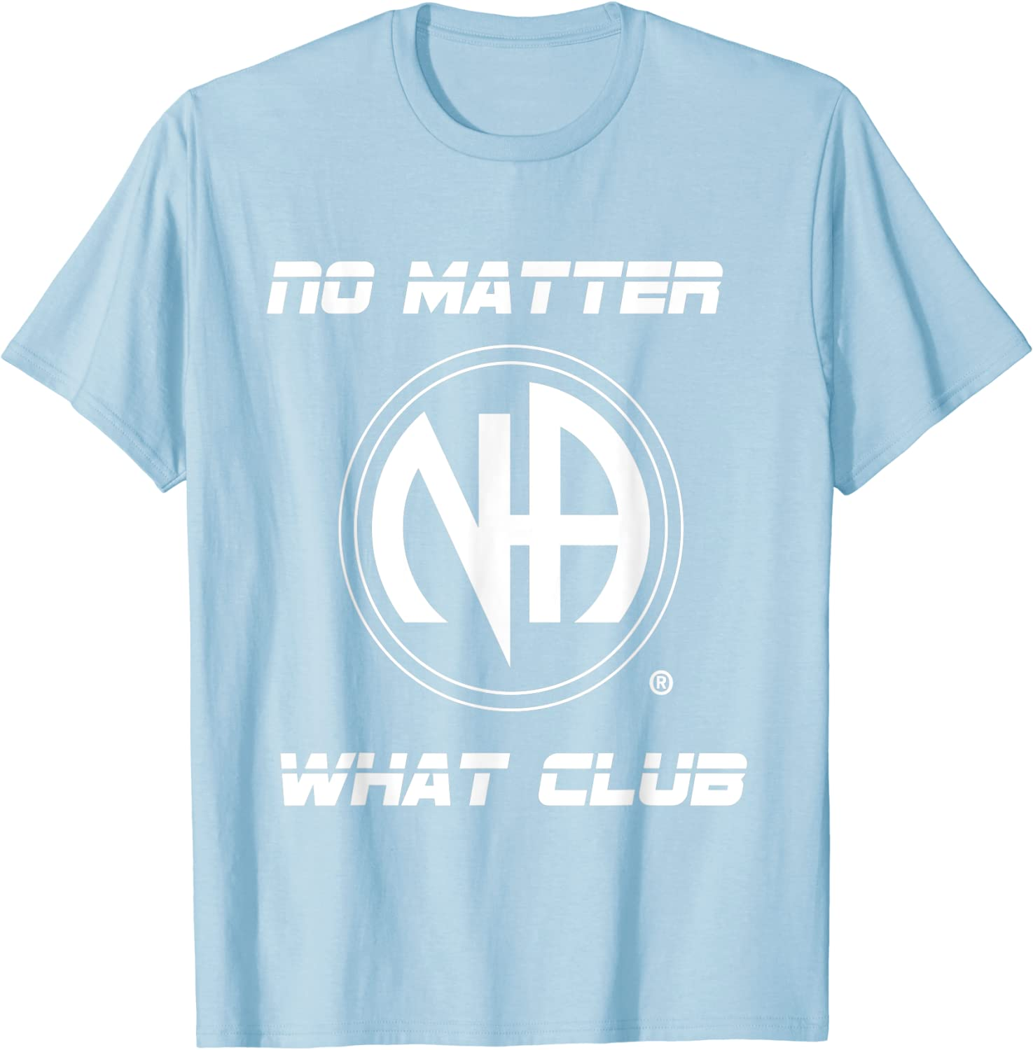 """3/"""" Round Narcotics Anonymous NO MATTER WHAT CLUB Patch"""