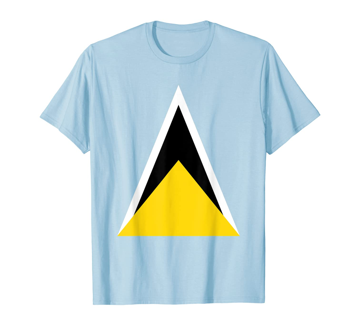 Saint Lucia Independence Day Flag Caribbean Carnival Tshirt