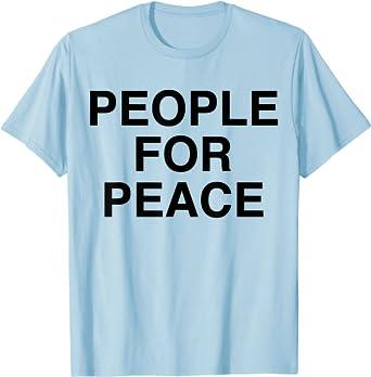 John Lennon - People For Peace T-Shirt