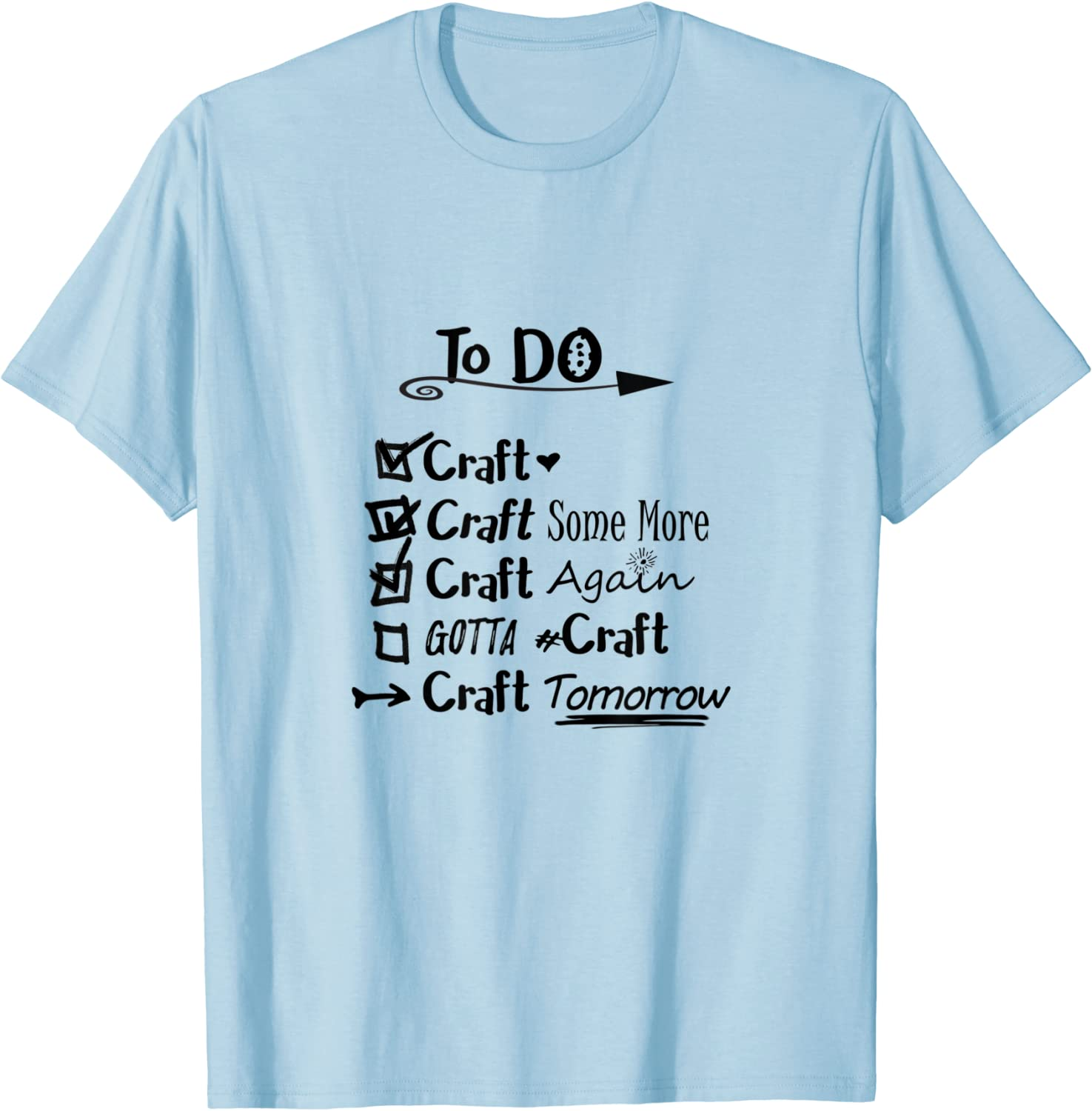 Crafters Gonna Craft  Craft Lover Shirt  Short Sleeve Tee