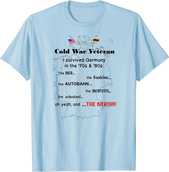 German Deutschland car automotive gift ffor men Cool T-shirt AUTOBAHN