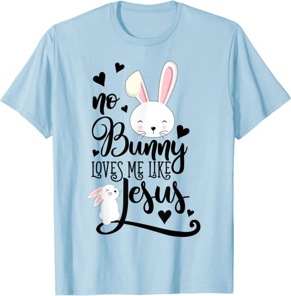 Cute Baby Bodysuit Jesus Shirt Easter Baby No bunny But Jesus Cute Easter Shirt