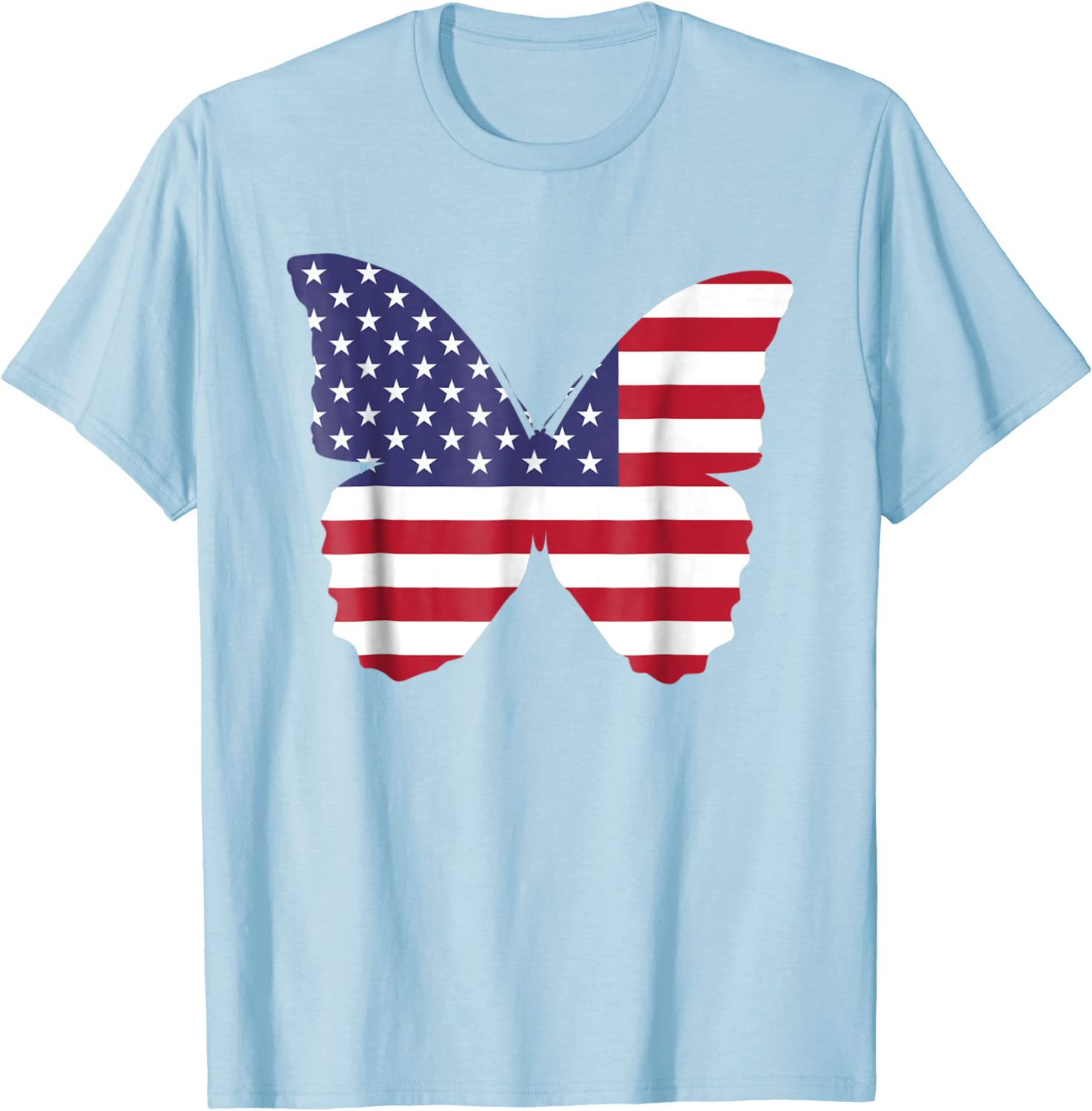 America Merica Yall Let Freedom Ring Fireworks Fourth of July Unisex Fit Tee Sparklers Red White and Blue Independence