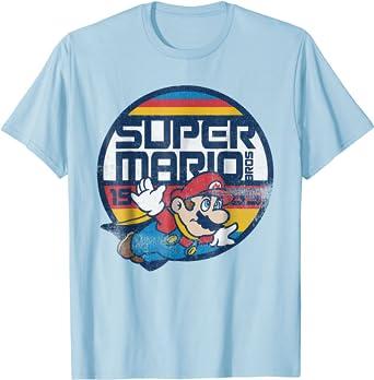 Super Mario Classic Retro Flying 1985 Graphic T-Shirt