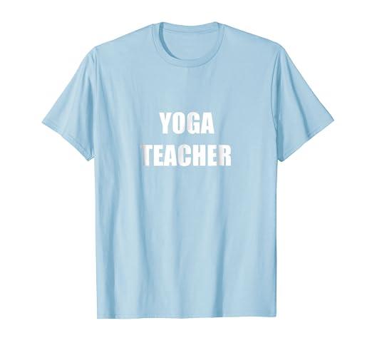 Amazon.com: Yoga Teacher Employees Official Uniform Work T ...