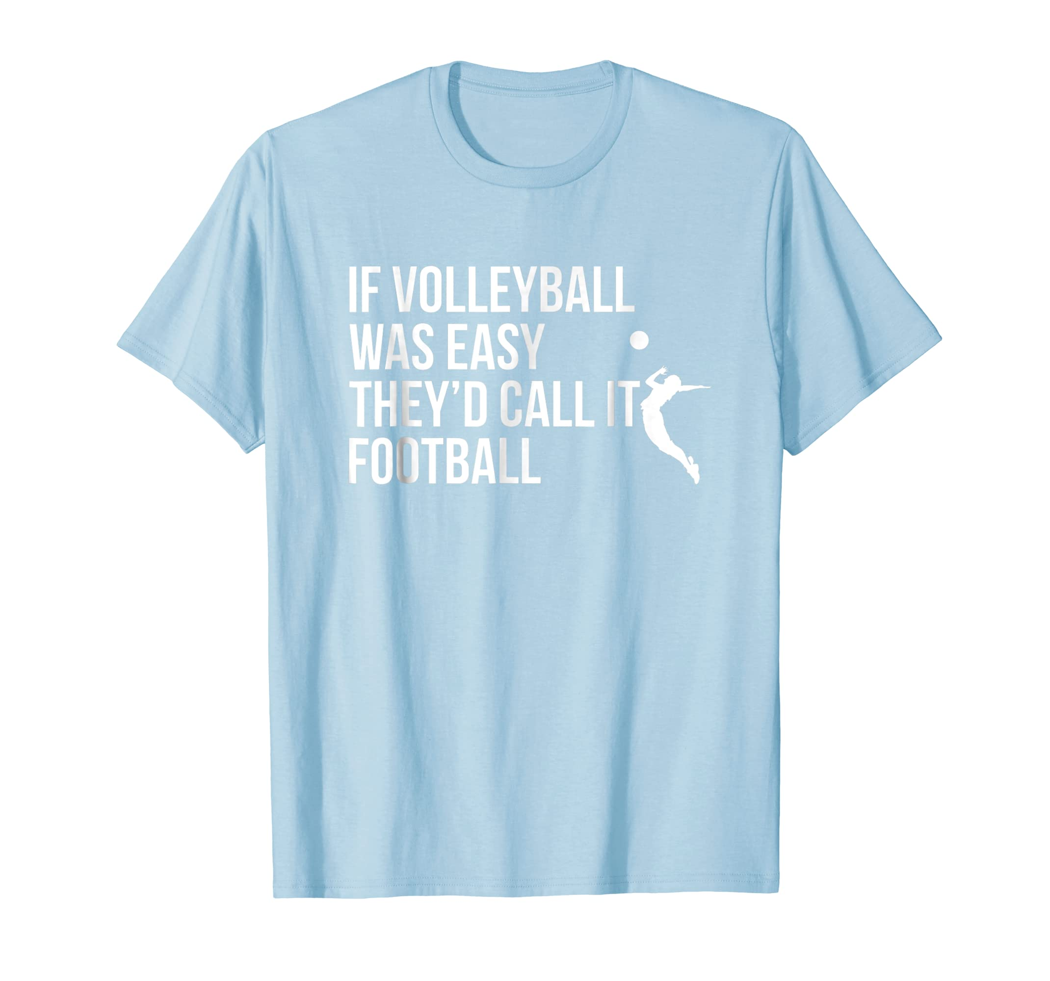 94ba3754 Amazon.com: Cute Funny Volleyball T-Shirt For Teen Girls and Women: Clothing