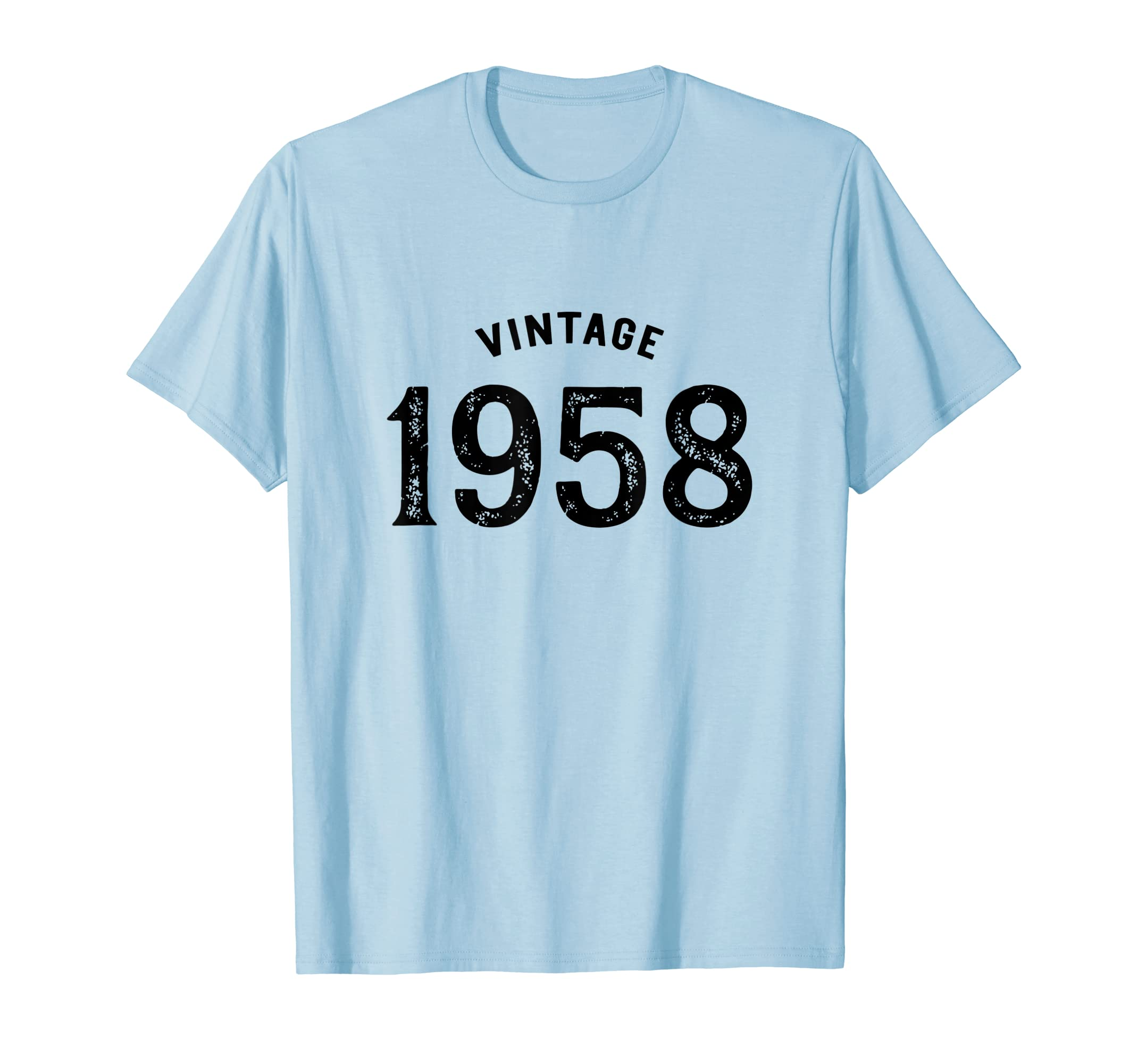 263c9012a Vintage 1958 T Shirt For 60Th Birthday Women Men Gift Idea Hoodie ...