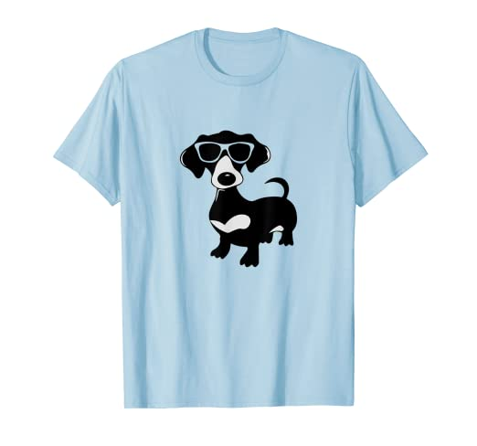 5c457f3b Image Unavailable. Image not available for. Color: Cool & Fancy Dachshund  T-Shirt for Wiener Dog Fans