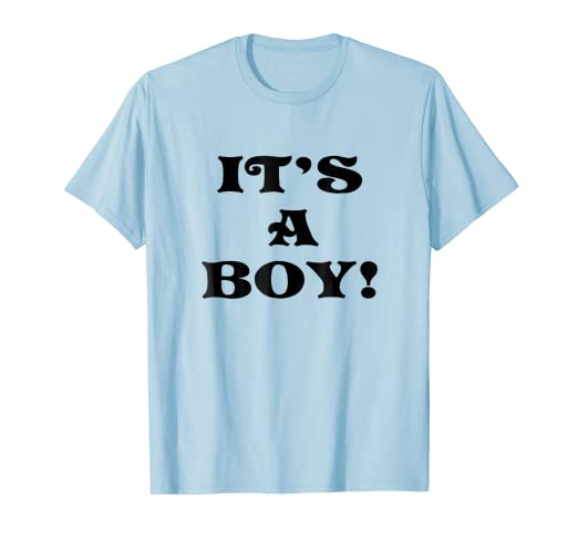 048192d6 Amazon.com: Gender Reveal Party T-shirt for Dad It's A Boy: Clothing