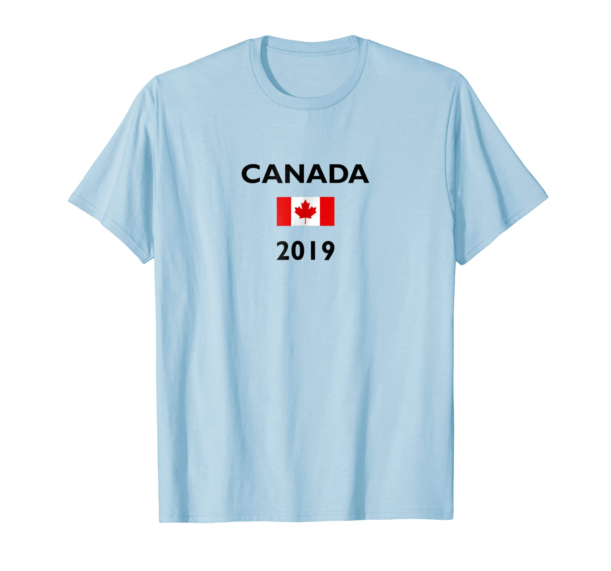 Canada Day 2019 Canadian Flag Light Color T Shirt-azvn