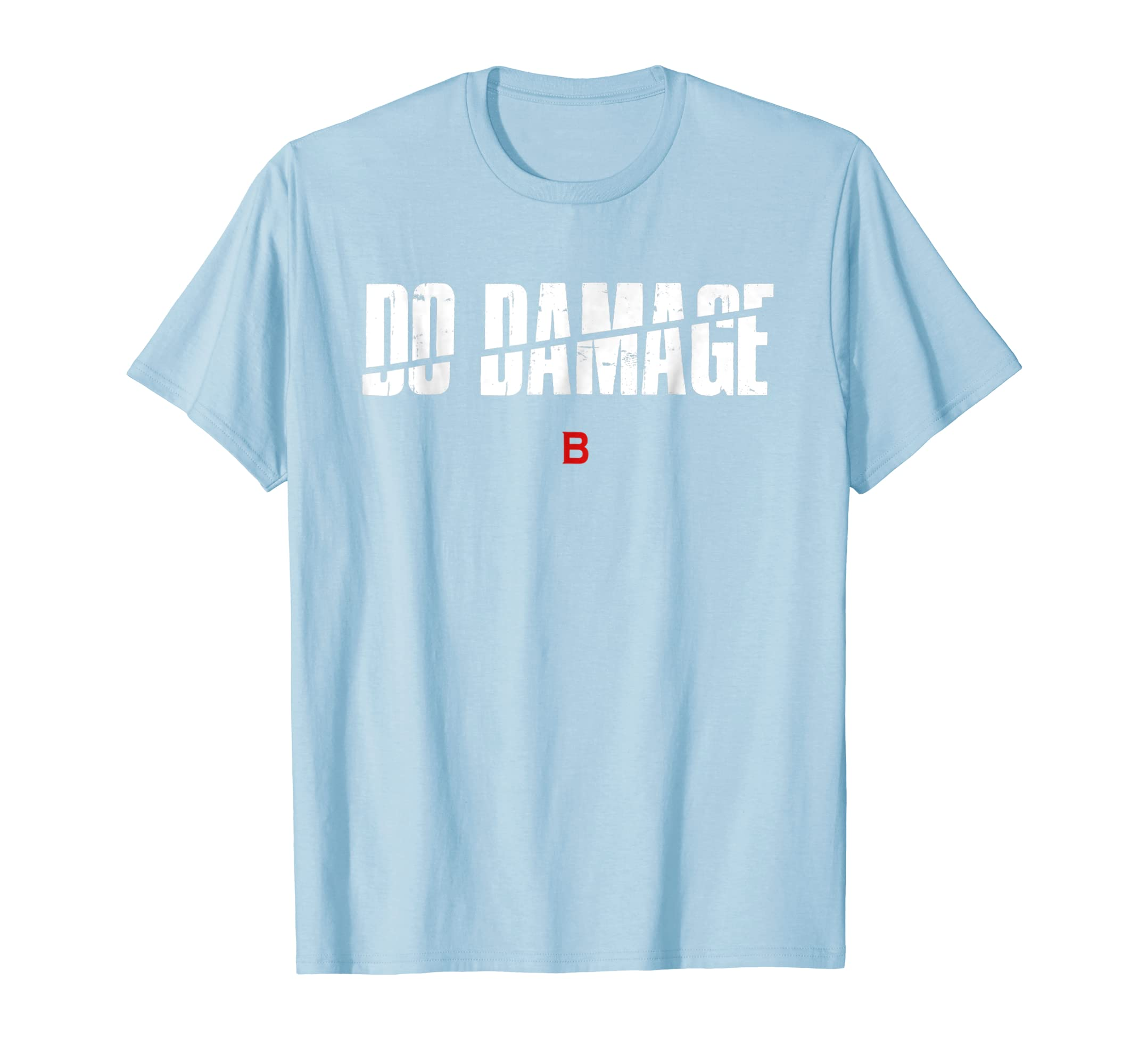 Boston Baseball fans , Do Damage Fan red shirt , Gift-azvn
