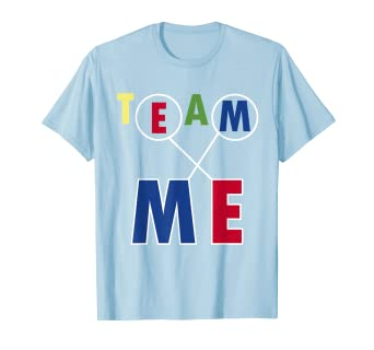 22a9ae2d8 Image Unavailable. Image not available for. Color: Team Me T-Shirts