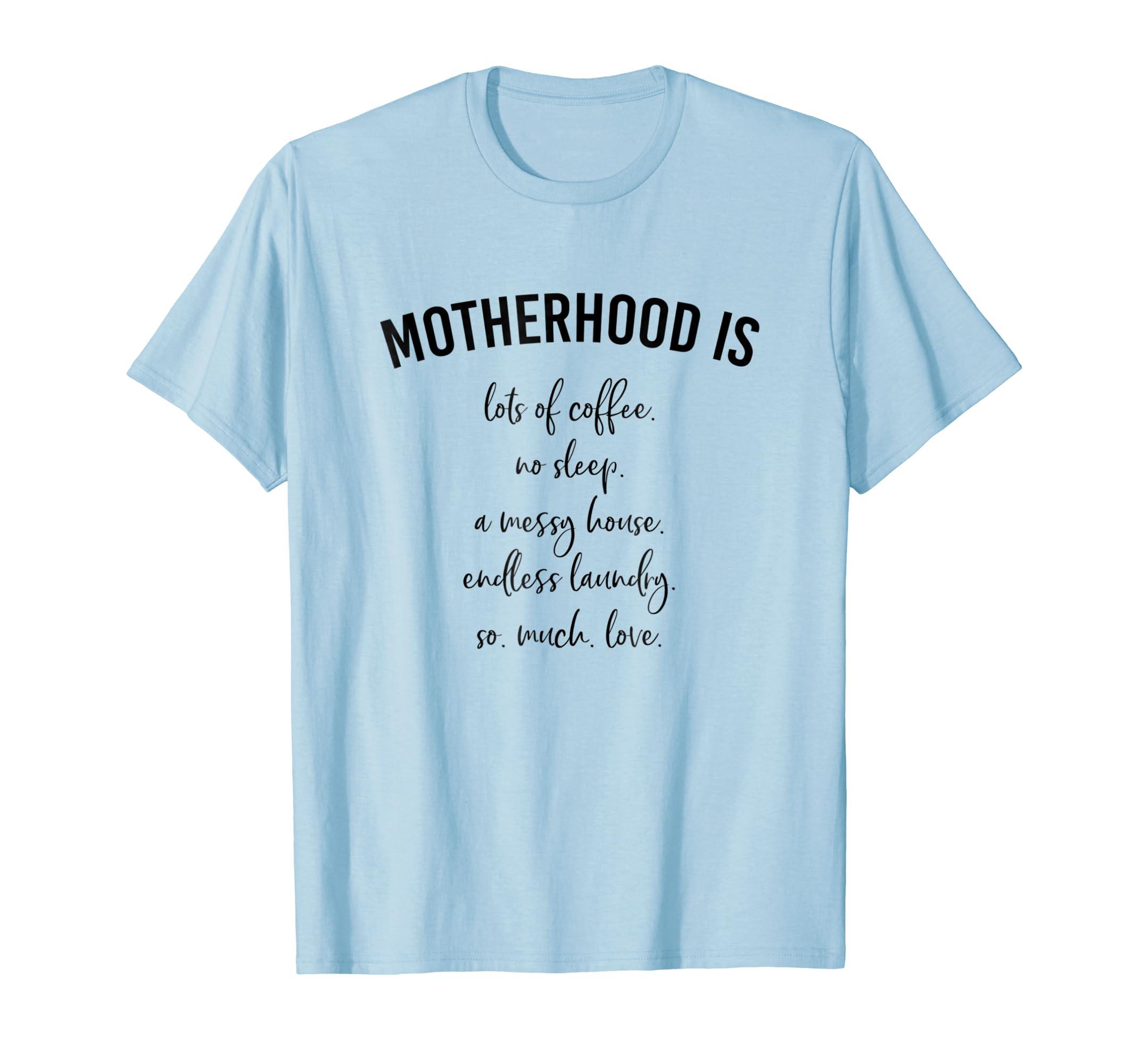 Motherhood is List Shirt for Mom-ANZ
